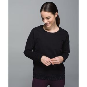 ⚡️SALE Lululemon Keep Up Crew Dotted Pullover